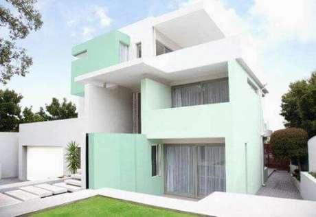 38. As pinturas de casas externas são ainda mais lindas em tons de verde – Por: CrysakisMusicusa