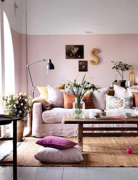 6. Pinturas de casas em tons claros para ambientes internos – Por: Lar Doce Lar