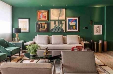 59. Pinturas de casas em tons de verde – Por: Portal Gramado News
