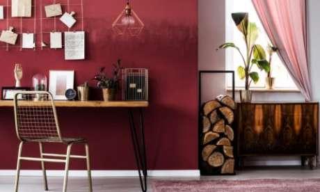 68. Faça pinturas externas para casa em tons de vermelho – Por: Conexão Decor