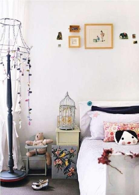 79. Gaiola para decoração de quarto infantil. Fonte: Pinterest