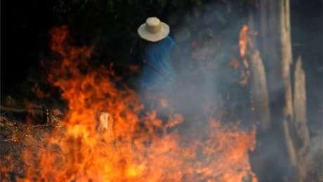 Amazônia é o bioma mais afetado por incêndios florestais neste ano, diz Inpe