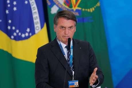 Bolsonaro fala em evento em Brasília