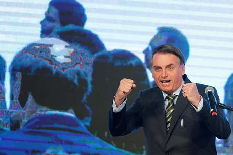 Presidente Jair Bolsonaro durante evento em Brasília 21/08/2019 REUTERS/Adriano Machado