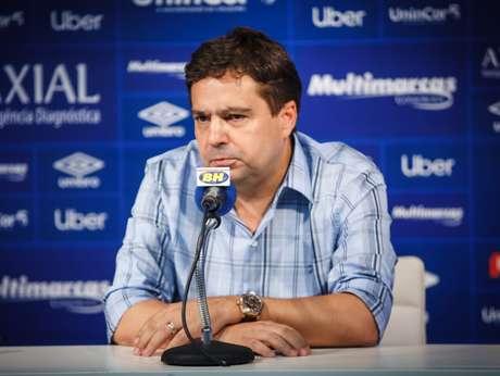 Itair está impedido pela Justiça de exercer o cargo de vice-presidente de futebol, mas o clube o nomeou como assessor esportivo- (Vinnicius Silva/rRuzeiro)