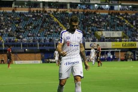André Moritz espera um grande jogo diante do Corinthians (Foto: André Palma Ribeiro/Divulgação/Avaí)
