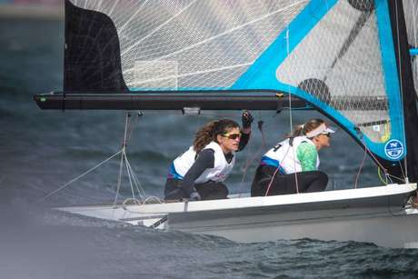 Martine e Kahena conquistam medalha de ouro no evento-teste par Tóquio 2020 (Foto: Jonne Roriz/COB)