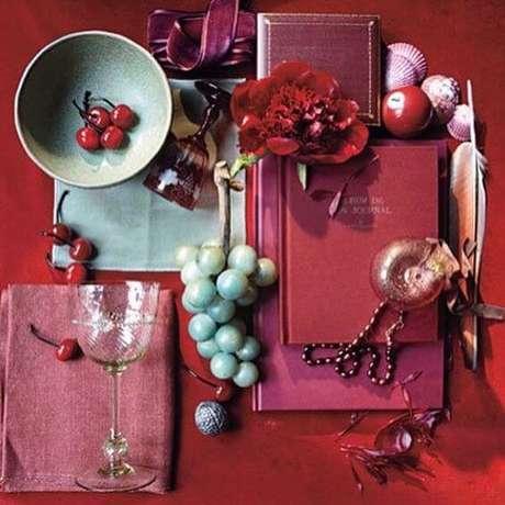 48. Cor marsala para usar na decoração de casa – Por: Pinterest