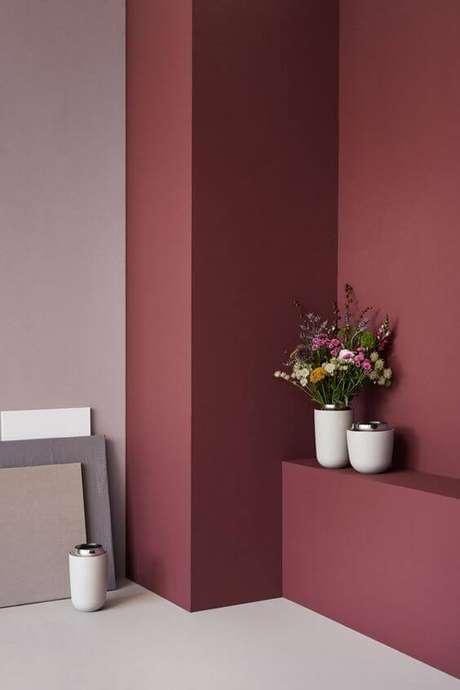 13. Aposte na tinta cor marsala para ter ambientes modernos e inovadores – Por: Nordic Design