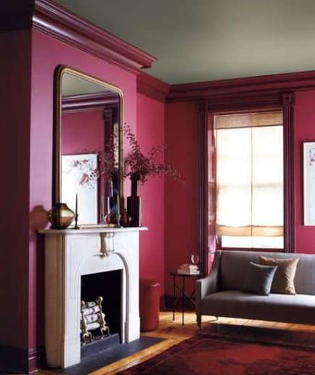 20. Combine cores neutras com a decoração cor marsala – Por: Pinterest