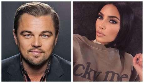 Leonardo DiCaprio e Kim Kardashian.