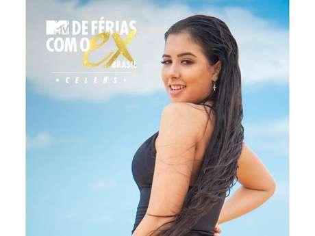 """""""De Férias com o Ex Brasil: Celebs"""": a atrizCinthia Cruz participou de """"Carrossel"""" e """"Chiquititas"""", no SBT"""