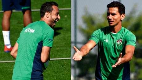 Nenê e Ganso possuem em comum o fato de terem defendido o São Paulo e o Santos (Mailson Santana/Fluminense)