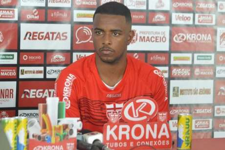 Wesley Dias quer estrear o quanto antes no CRB (Foto: Divulgação/CRB)