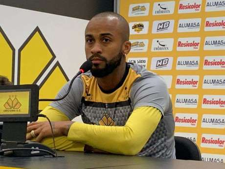 Meia Wesley espera vitória do Tigre contra o Paraná (Foto:Divulgação / Criciúma)