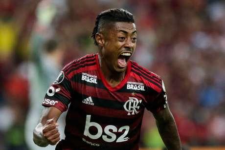 Bruno Henrique definiu a vitória do Fla.