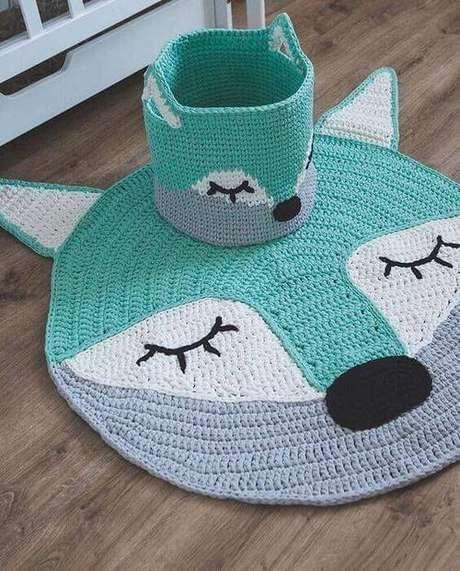 2. O cesto de crochê pode ser utilizado de diferentes formas. Foto: Revista Artesanato