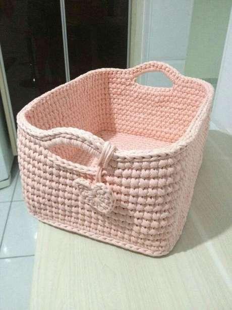 16. O cesto de crochê pode se assemelhar a um porta treco. Foto: Top Buzz