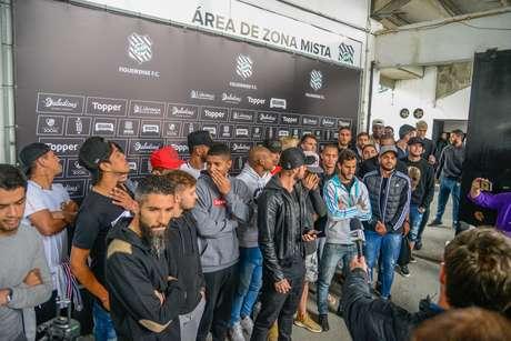 Jogadores do Figueirense não voltaram a treinar.