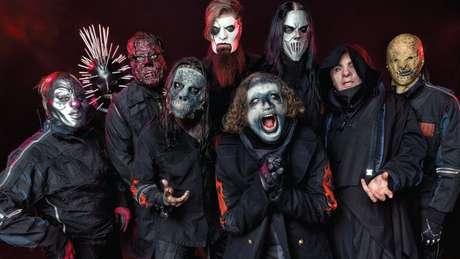 Pela terceira vez na carreira, a banda norte-americana de new metal Slipknot emplaca um disco na primeira colocação do ranking Bilboard 200
