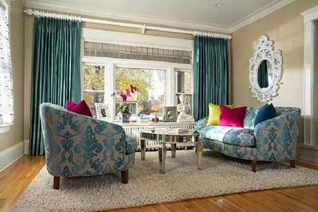5. Tecido para sofá jacquarda. Fonte: Pinterest
