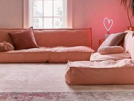 7. Tecido para sofá de sarja. Fonte: Pinterest