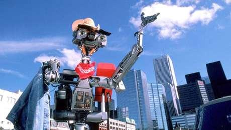 O Número 5, do filme 'O incrível robô', sabia que ele não era uma máquina qualquer