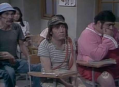 Trecho de episódio do seriado 'Chaves', de Roberto Bolaños, exibido pelo SBT e pelo canal pago Multishow.