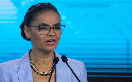 Marina Silva em debate durante campanha eleitoral à Presidência em 2018 30/09/2018 REUTERS/Nacho Doce