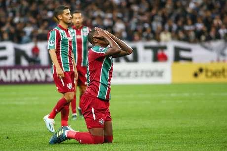 Frazan do Fluminense durante a partida entre Corinthians e Fluminense, válida pela Copa Sulamericana 2019; partida terminou no 0 a 0.