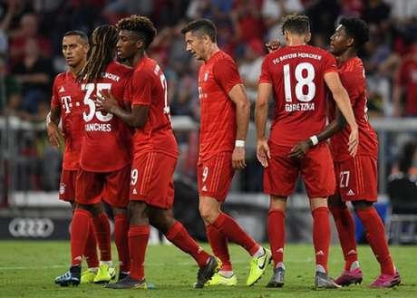 Bayern ficou só no empate no primeiro jogo da Bundesliga em 2 a 2 contra o Hertha Berlin (Foto: AFP)