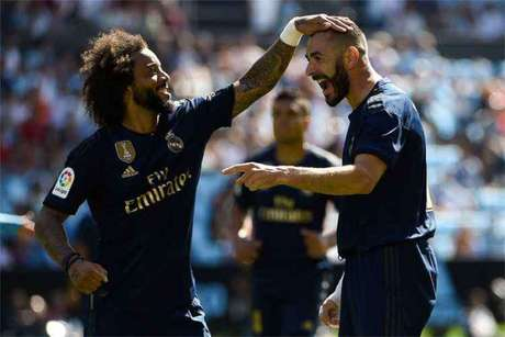 Real fez 3 a 1 no Celta de Vigo na primeira rodada (Foto: Miguel Riopa/AFP)