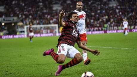 Arão é o líder do fundamento no Flamengo (Alexandre Vidal & Marcelo Cortes / Flamengo)