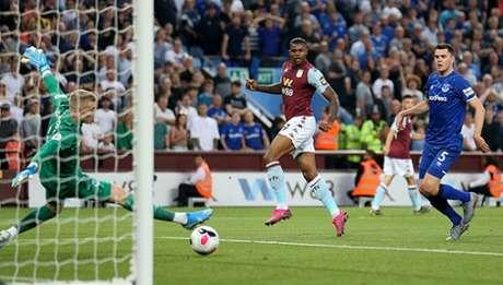 Wesley marcou o gol da vitória (Foto: Reprodução/Twitter)