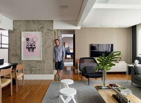 14. A cor fendi é ótima se utilizada em paredes. Foto: Elo7