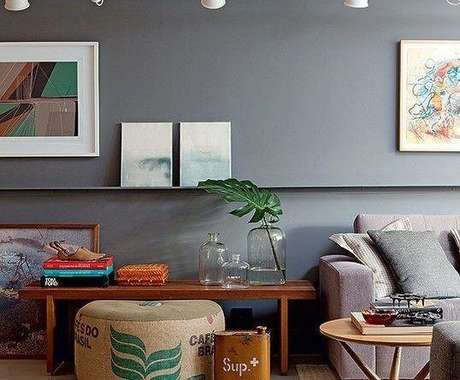 15. A cor fendi pode ganhar outros tons de acordo com a luz. Foto: Decor Fácil