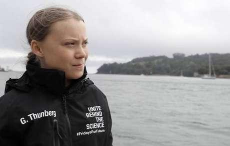 'Incêndios na Amazônia são devastadores',diz Greta Thunberg