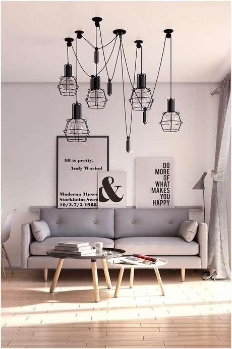 3. Escolha modelos de quadros decorativos para sala que se harmonizam ao estilo da decoração – Foto: Chateau de Conques