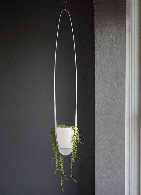 60. Escolha vasos decorativos com design minimalista para ambientes com estilo moderno – Foto: Pinterest