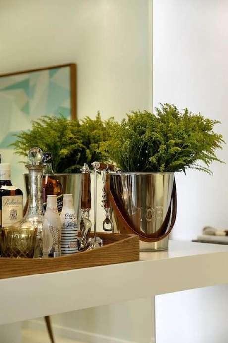 23. Modelo de vaso decorativo para plantas