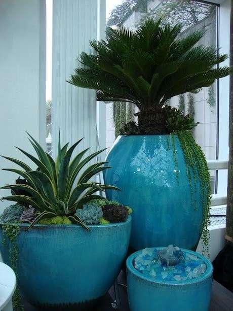 35. Misture os tamanhos do seu vaso vietnamita – Por: Pinterest