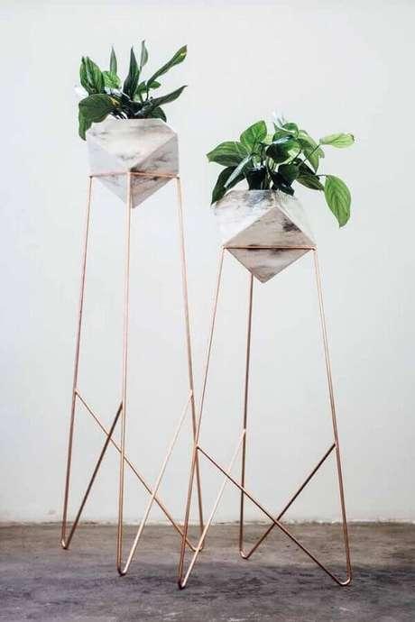 63. Os vasos decorativos com design minimalista estão super em alta – Foto: Behance