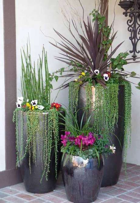 50. Escolha o vaso vietnamita cinza fica lindo para a sua casa – Por: Pinterest