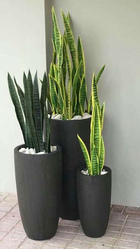 10. Vaso vietnamita cinza fosco em três tamanhos diferentes – Por: Pinterest