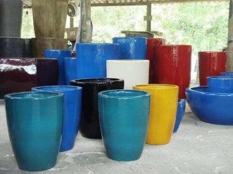 12. Escolha as cores lindas para o vaso vietnamita – Por: Viveiro Chapeco