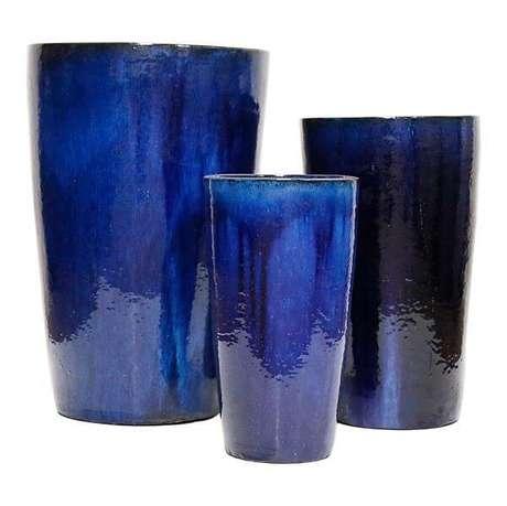 16. O vaso vietnamita azul – Por: Oridecor