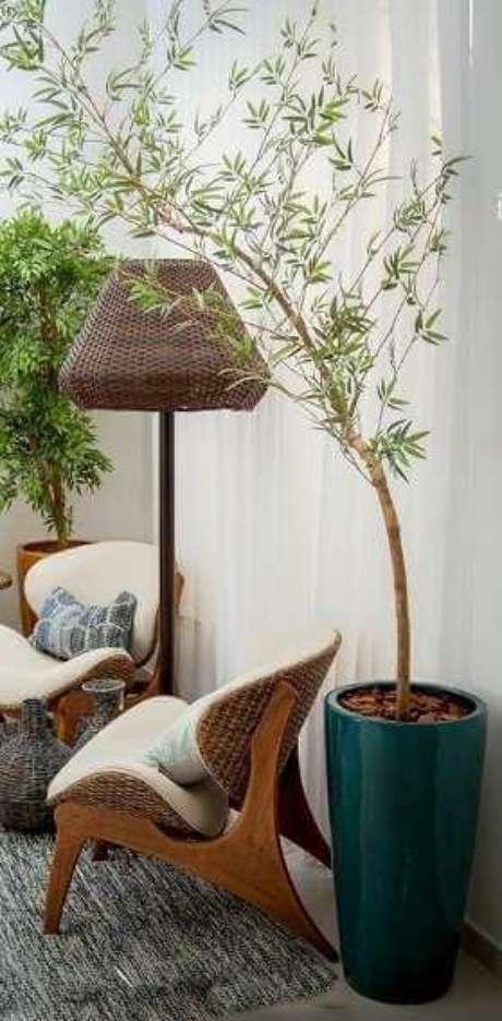 52. O vaso vietnamita pode ser lindo para sua decoração – Por: Pinterest