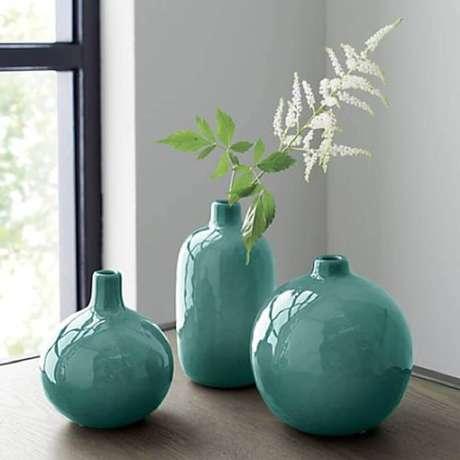 15.O vaso decorativo não precisa ser utilizado com plantas.