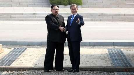 Desde 2018, as Coreias do Norte e do Sul desmilitarizaram a zona, removendo minas e postos de guarda