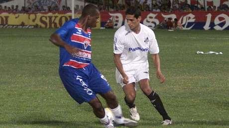 Santos e Fortaleza se enfrentaram pela última vez em 2006, empataram em 1 a 1 (Foto: LC Moreira/Lancepress!)